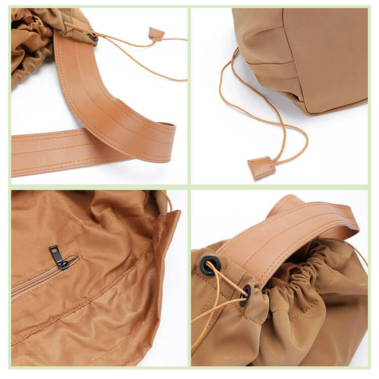 CG021 Wholesale women eco-friendly nylon shopping tote bag reusable