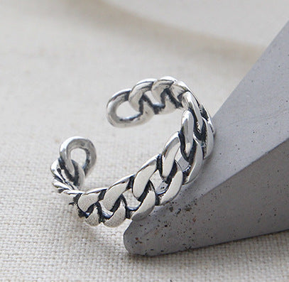 Unisex 100% S925 Sterling Silver Ring