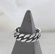 Load image into Gallery viewer, Unisex 100% S925 Sterling Silver Ring