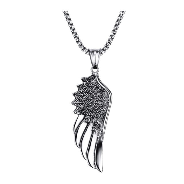 NECKLACE FOR MEN SPEARHEAD JEWELLERY STAINLESS STEEL