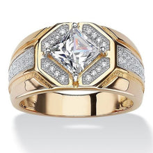 Load image into Gallery viewer, Big Round Ring Hip Hop Rock Style Bling Iced Out Cubic