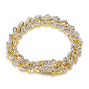 13MM Bling Rhinestone Chain Bracelet