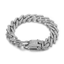 Load image into Gallery viewer, Hip Hop Crystal Bling Bling Chain Bracelet