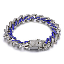 Load image into Gallery viewer, 13MM Bling Rhinestone Chain Bracelet