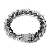 Load image into Gallery viewer, Mens Bling Rhinestone Crystal Chain Bracelet