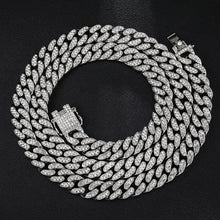 Load image into Gallery viewer, Hip Hop 13MM Rhinestones Men Chain Necklace