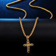 Load image into Gallery viewer, Cross Pendants Necklace Men Jewellery