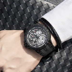 Classic Unique Design Sports Men's Watch Japan Movement Quartz