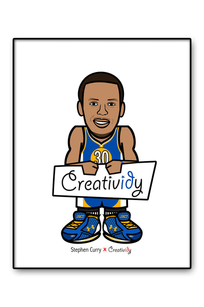 "8.5"" x 11"" Print - Stephen Curry"