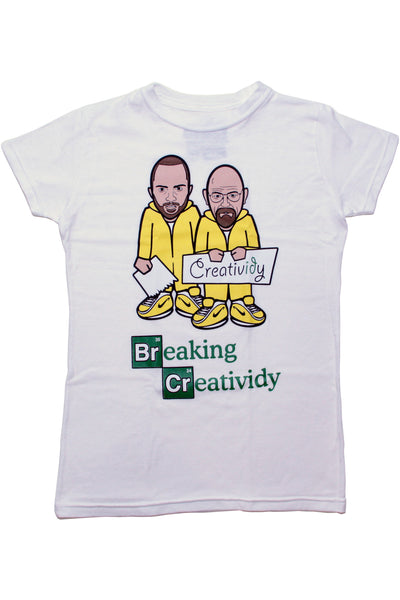 Breaking Creatividy Women's Tee