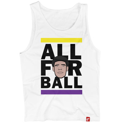 ALL FOR BALL (Tank) - Lonzo Ball #2 Pick - Los Angeles Lakers