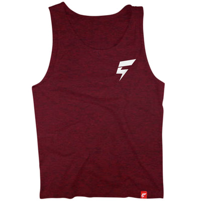 Creatividy BOLT Logo Tank (Cranberry)