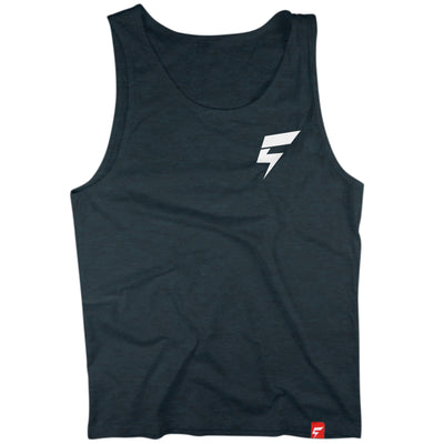 Creatividy BOLT Logo Tank (Twilight Black)