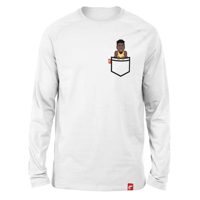 "Donovan Mitchell ""Spida"" Fauxket Long Sleeve Tee"