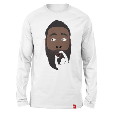 James Harden COOKIN' Long Sleeve Tee