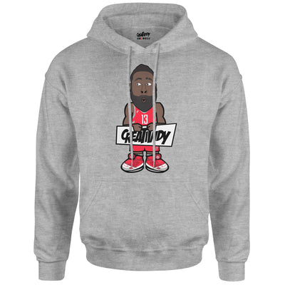James Harden Caricature Hoodie (Meme Face Edition)