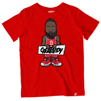 James Harden Caricature Tee