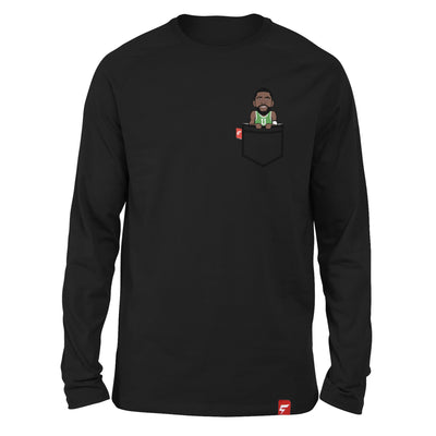 Kyrie Irving Fauxket Long Sleeve Tee (Boston Edition)