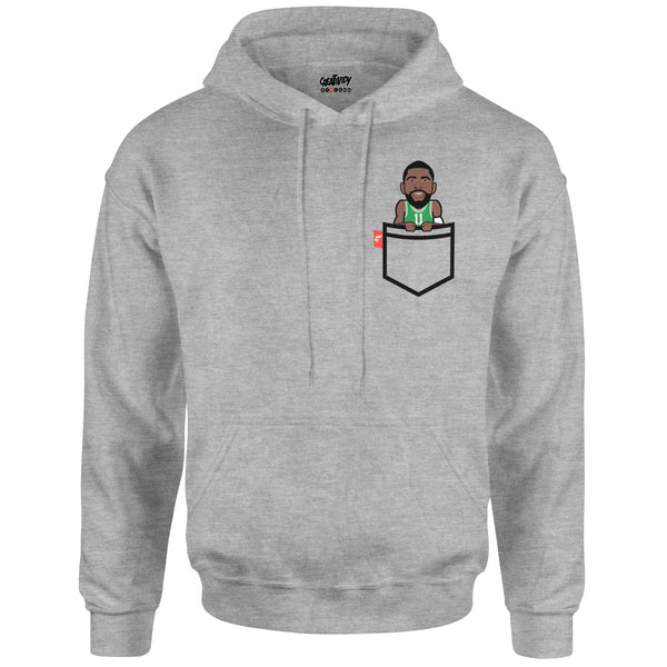 big sale 4bf87 32f22 Kyrie Irving Fauxket Hoodie (Boston Edition) - Creatividy