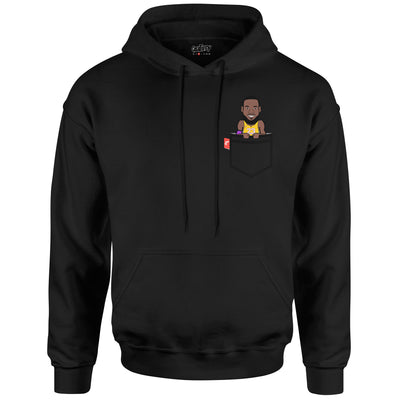 LeBron James Fauxket Hoodie (Los Angeles Edition)