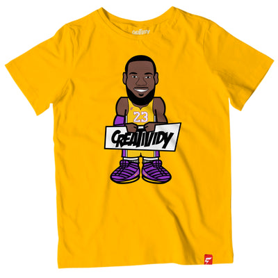LeBron James Caricature Tee (Los Angeles Edition)