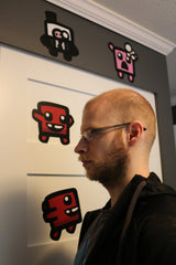 Super Meat Boy Forever Wall Graphics