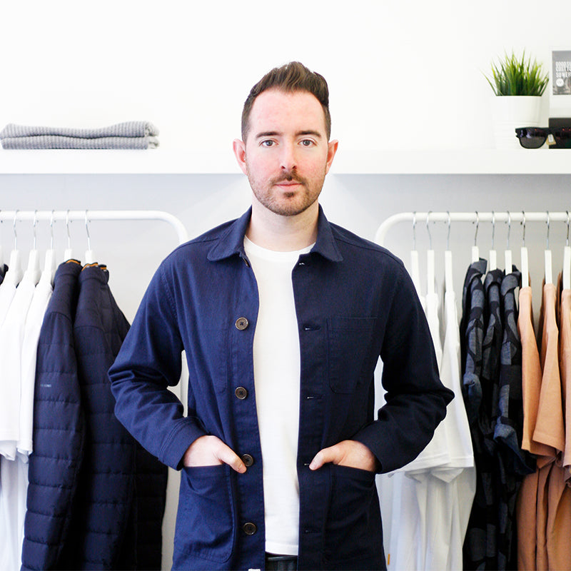 James Rennie Founder Ryan James Studio Independent Men's Shop in Glasgow