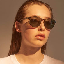 Load image into Gallery viewer, A.Kjaerbede Sunglasses Demi Olive A.Kjaerbede Marvin Sunglasses Olive