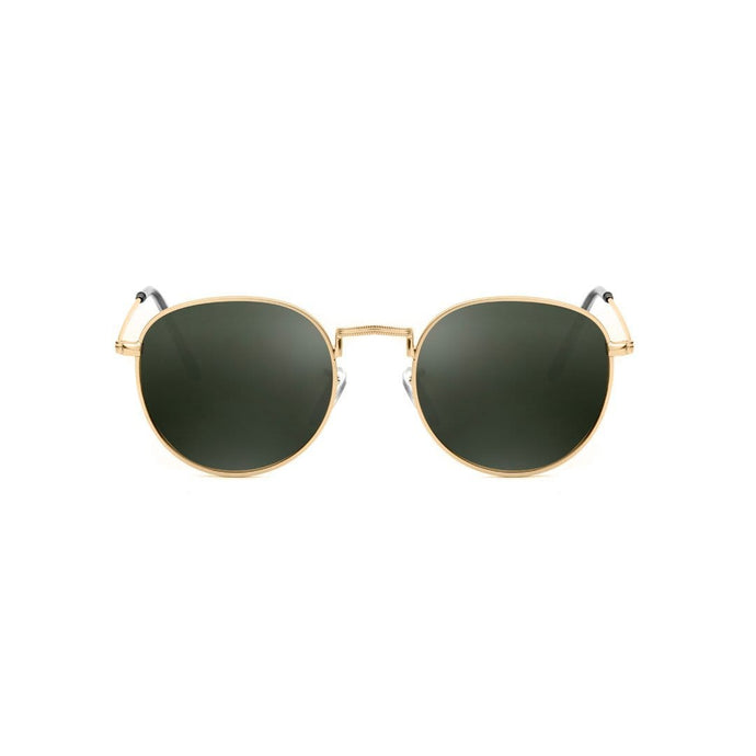 A.Kjaerbede Sunglasses Green/Gold A.Kjaerbede Hello Sunglasses Green/Gold