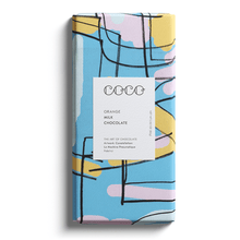 Load image into Gallery viewer, COCO Chocolatier Gift COCO Chocolatier Orange Chocolate Bar, 80g