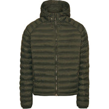 Load image into Gallery viewer, Knowledge Cotton Apparel Coat/Jacket KnowledgeCotton Apparel Eco Active Thermore Hood Jacket Green - Vegan