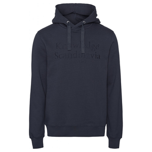 Knowledge Cotton Apparel Sweatshirts KnowledgeCotton Apparel Scandinavia Hood Sweat Navy - GOTS/Vegan