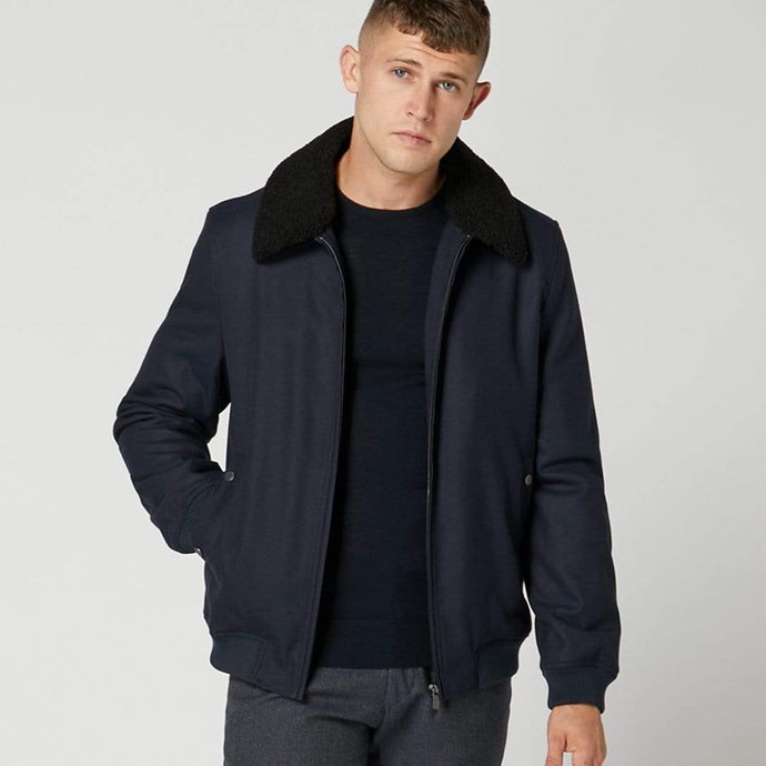Remus Uomo Coat/Jacket Remus Uomo Olsen Flight Jacket Navy