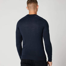 Load image into Gallery viewer, Remus Uomo Knitwear Remus Uomo Fine Knit Sweater Navy