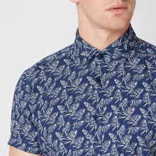 Load image into Gallery viewer, Remus Uomo Shirts Remus Uomo Tapered Fit Print Shirt Navy