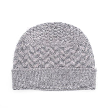 Load image into Gallery viewer, Ryan James Studio Hat One Size Ryan James Bedford Lambswool Beanie Grey