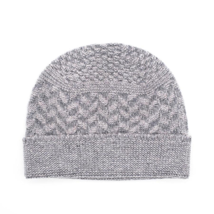 Ryan James Studio Hat One Size Ryan James Bedford Lambswool Beanie Grey