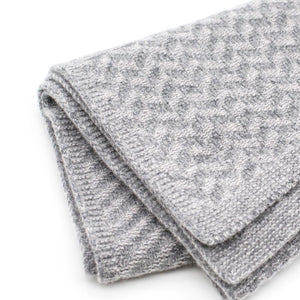 Ryan James Studio Scarf One Size Ryan James Bedford Lambswool Scarf Grey