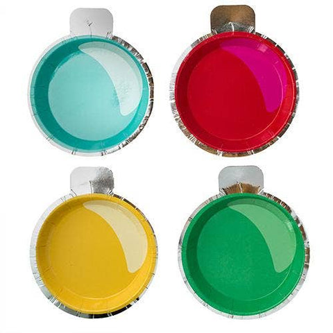 Ornament Canapé Plates, Mixed Pack