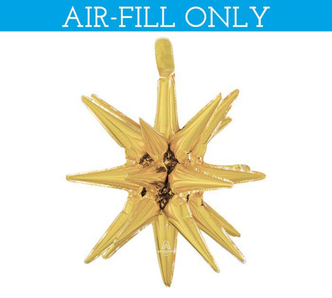 "20"" GOLD MAGIC STAR BALLOON"