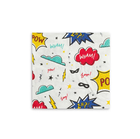 Superhero Large Napkins