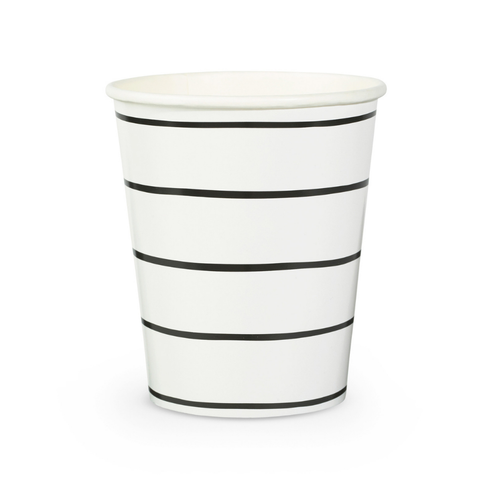 Frenchie Striped Ink 9 oz Cups