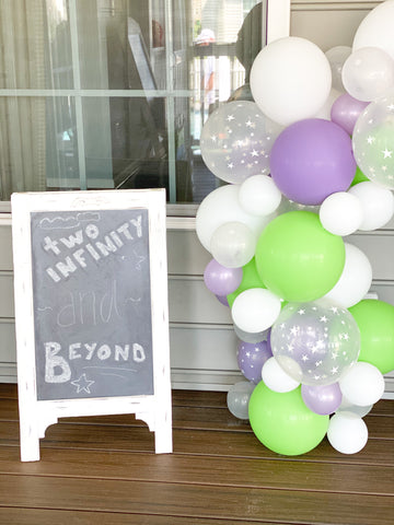 Chalkboard Display Rental