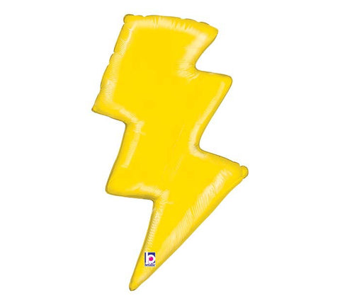 "36""PACKAGED LIGHTNING BOLT BALLOON"