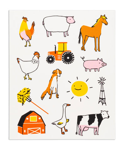 Farm Fun Barnyard Stickies®