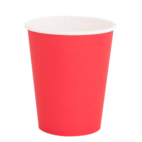 Red 8oz Cups