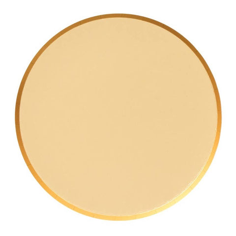 Gold Large Round Plates