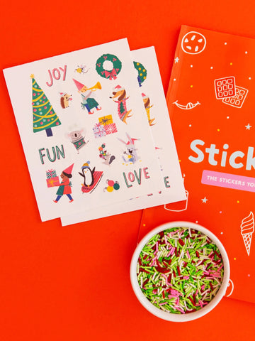 Christmas Is Awesome! Stickies®