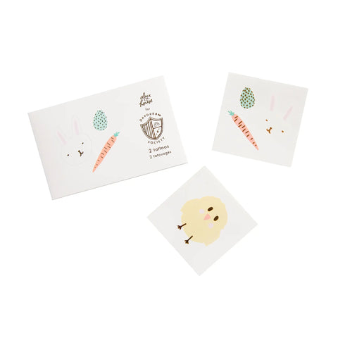 Easter Fun Temporary Tattoos - 2 Pk.