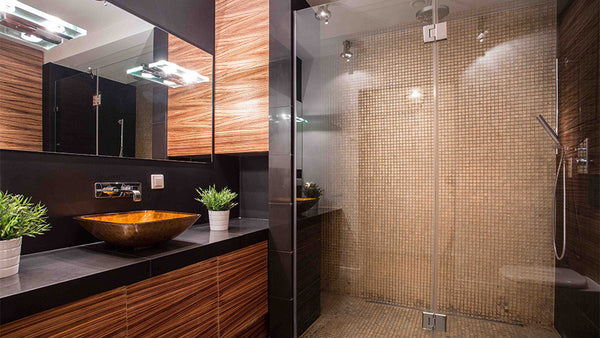 Custom Measured Frameless Shower Screens